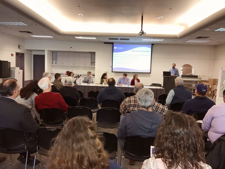 Public meeting February 8